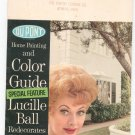 Vintage Dupont Home Painting And Color Guide Lucille Ball Redecorates Her Home
