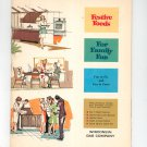 Regional Festive Foods For Family Fun Cookbook Wisconsin Gas Company 1964