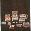 Vintage This Is Sony Superscope Catalog The Tapeway To Stereo