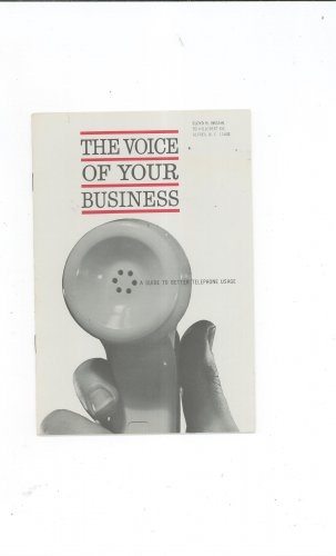 Vintage The Voice Of Your Telephone New England Telephone Company 1961