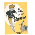 Vintage You And Your Telephone New York Telephone Company 1954