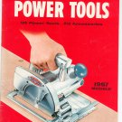 Vintage Craftsman Power Tools Catalog 1957 Sears Roebuck & Company