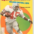Sports Illustrated Magazine September 9 1974 Archie Griffin College Football