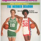 Sports Illustrated Magazine October 25 1976 The Merger Season Basketball