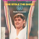 Sports Illustrated Magazine August 2 1976 Nadia Comaneci