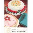 Vintage Answers To What's Cooking 38 Cookbook 1961 Carnation Mary Blake