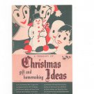 Vintage A Treasury Of Christmas Gift And Homemaking Ideas Catalog R G & E
