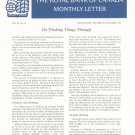 Vintage The Royal Bank Of Canada Monthly Letter 1968 Lot Of 11