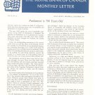 Vintage The Royal Bank Of Canada Monthly Letter 1964 Lot Of 11