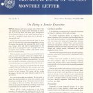 Vintage The Royal Bank Of Canada Monthly Letter 1960 Lot Of 9