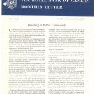 Vintage The Royal Bank Of Canada Monthly Letter 1959 Lot Of 9
