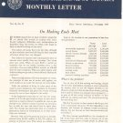 Vintage The Royal Bank Of Canada Monthly Letter 1957 Lot Of 12