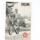 Vintage Cycling Boy Scouts Of America Merit Badge Series BSA1972