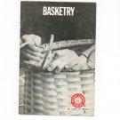 Vintage Basketry Boy Scouts Of America Merit Badge Series 1971 BSA