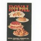 Vintage Royal Cook Book Cookbook Baking Powder 1925