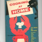 Vintage Cooking At Home NBC TV Number 1 Cookbook Dell 1957