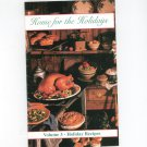 Home For The Holidays Volume 3 Cookbook by Veterans Of Foreign Wars