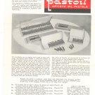 Vintage Permanent Pigments Pastoil Artist's Oil Pastels Information Sheet With Prices