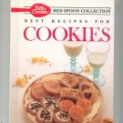 Betty Crocker Red Spoon Collection Best Recipes For Cookies Cookbook 0130730734