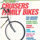 Ross Cruisers Family Bikes Catalog 1992