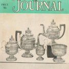 Vintage The Antiques Journal February 1966  American Silver