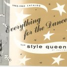 Vintage Everything For The Dancer From Style Queen Catalog 1962 1963