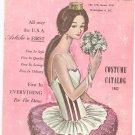 Vintage Artistic Dance Fashions Costume Catalog 1963