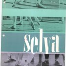 Vintage Selva Dance Footwear Costumes Plus Catalog 1962 1963 With Price List
