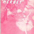 Vintage Herbet Dancewear Catalog 1967 With Price List