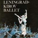 Vintage The Leningrad Kirov Ballet S. Hurok Presents Souvenir Program