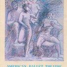Vintage American Ballet Theatre Souvenir Program With Insert 1963