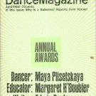 Dance Magazine April 1966  Vintage Dancer Maya Plisetskaya