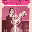 Dance Magazine March 1965  Vintage Villella Butler Gennaro