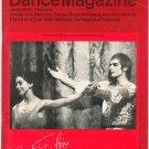 Dance Magazine June 1965 Vintage Degas Rauschenberg Rembrandt Fonteyn Nureyev