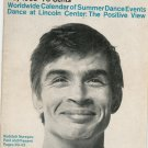 Dance Magazine May 1963 Vintage Rudolph Nureyev