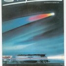 Amtrak Express Magazine October November 1985