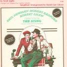 Vintage The Entertainer Piano Solo Sheet Music by Scott Joplin Calumet Music