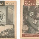 Vintage Lot Of 5 Read Magazine 1953 Young Adult