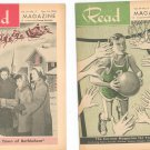 Vintage Lot Of 7 Read Magazine 1954 Young Adult