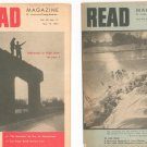Vintage Lot Of 11 Read Magazine 1958 Young Adult
