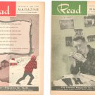 Vintage Lot Of 10 Read Magazine 1955 Young Adult