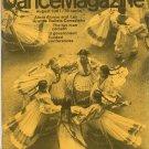 Dance Magazine August 1967 Vintage Alicia Alonso Les Grands