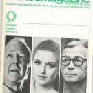 Dance Magazine April 1968 Vintage Alwin Nikolais Violette Verdy Eugene Loring