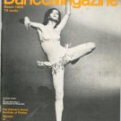 Dance Magazine March 1968 Vintage Suzanne Farrell