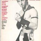 Dance Magazine October 1973 Vintage Daniel Levins As Billy The Kid