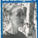Dance Magazine October 1966 Vintage Martha Graham
