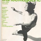 Dance Magazine June 1968 Vintage Yvonne Rainer Kovach & Rabovsky Today