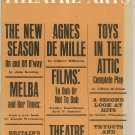 Theatre Arts Magazine October 1961 Vintage Not PDF