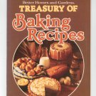 Better Homes and Gardens Treasury Of Baking Recipes Cookbook 0696020416 First Edition