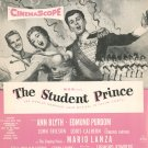Vintage Drinking Song Sheet Music The Student Prince Harms Inc.